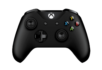 MICROSOFT-Xbox-One-S-Wireless-Controller-Zwartjpg